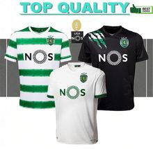 2020 2021 Sporting tamamho Clube de camiseta de fútbol Sporting CP local Lisbon camisetas de fútbol Lisboa uniformes de hombres