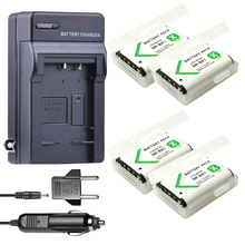 цена на 4* NP-BX1 np bx1 battery + DC  Car Charger with EU plug  For Sony DSC-RX100 DSC-WX500 IV HX300 WX300 HDR-AS15 X3000R MV1 AS30V