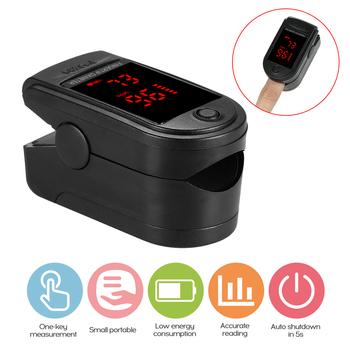 Gorący przenośny Monitor tlenu i tętna pulsoksymetr napalcowy Monitor nasycenia tlenem szybka wysyłka w ciągu 24 godzin (bez baterii) tanie i dobre opinie meterk pulse oximiter 2 * 1 5 V AAA batteries(not included) 30 bpm - 250 bpm