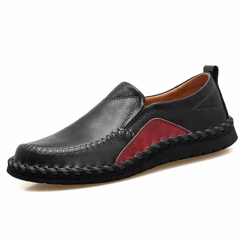 איש סניקרס עור גברים מותג נעלי הליכה נעליים יומיומיות זכר נעלי מגמה Zapatos Hombre