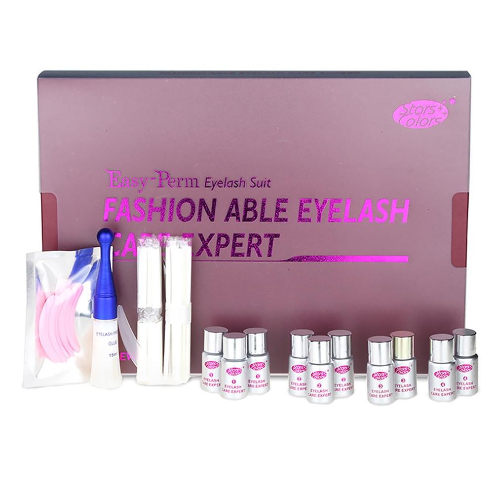 Professional Expert Eyelash Extension Perm Set Lift Curling Up Permanent Eyelash Perming Kit Lash Lift Kit With Box