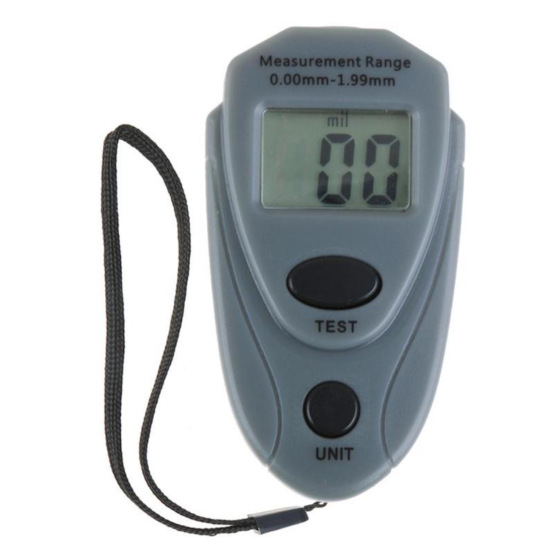 EM2271 Mini Digital Car Paint Thickness Gauge Meter Paint Thickness Tester Auto Coating Thickness Gauge Russia English Manual