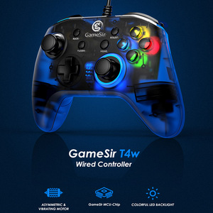 Image 5 - GameSir T4 Pro / T4W Gamepad Controller 2.4 GHz  Joystick for PC Game with USB Receiver Wired Gamepad for Windows (7/8/9/10) PC