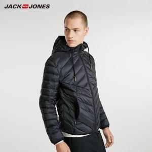 Image 2 - JackJones erkek hafif taşınabilir aşağı ceket parka ceket erkek giyim 218312510