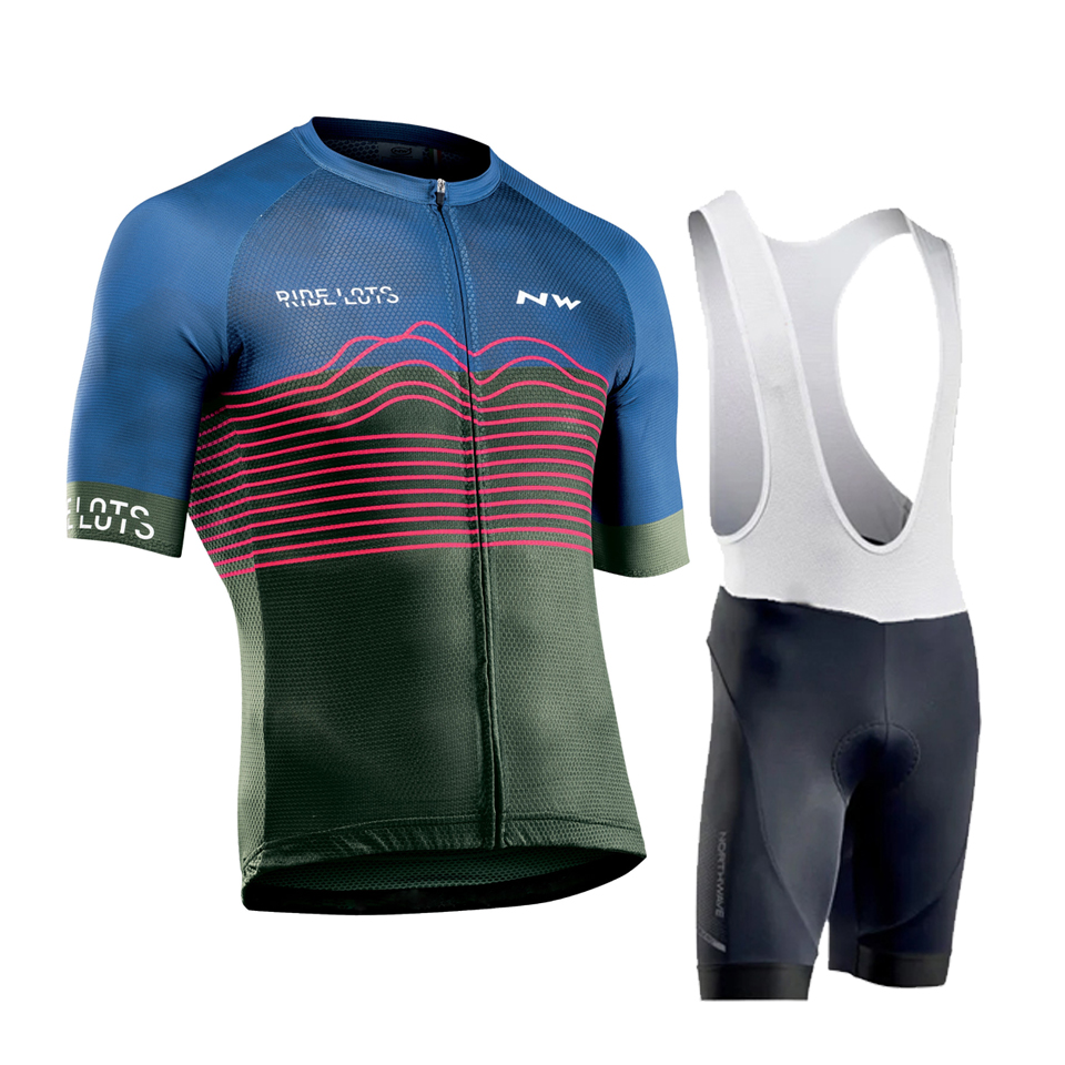 2020 NW Brand Summer Cycling Jersey Set Breathable MTB Bicycle Cycling Clothing Mountain <font><b>Bike</b></font> <font><b>Wear</b></font> Clothes Maillot Ropa Ciclismo image