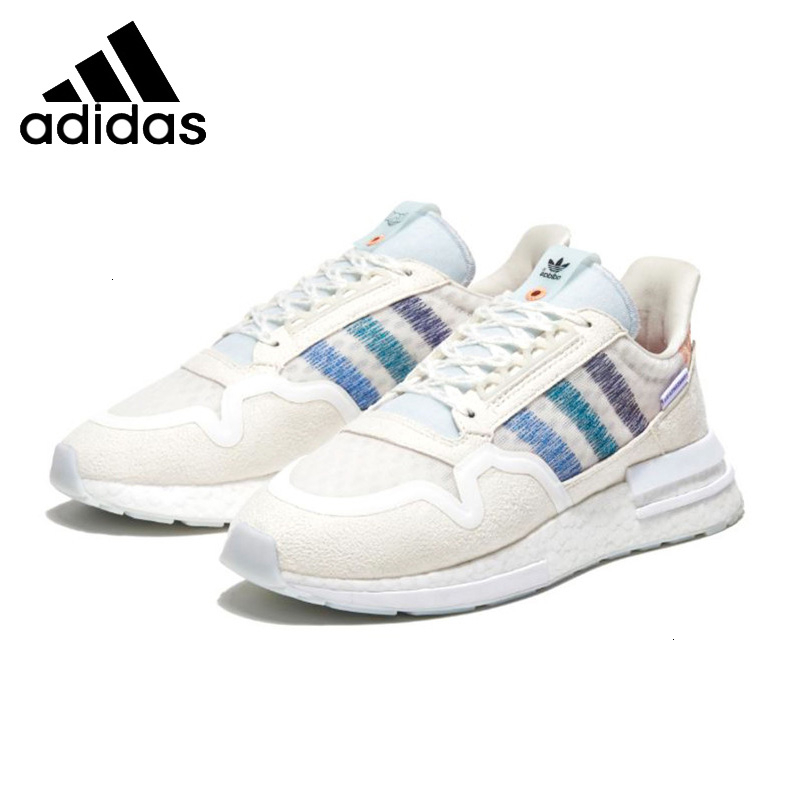 <font><b>Adidas</b></font> Zx500 X Mens <font><b>Running</b></font> Shoes White Breathable Sports <font><b>Sneakers</b></font> Db3510 image