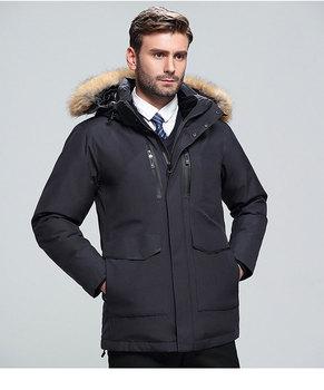 Nuevo abrigo chaqueta de invierno para hombre de chaqueta de plumas de...