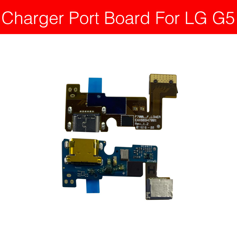 USB Charging Connector Port Jack Board For LG G5 H830 H850 H860N H868 USB Charge Port Board Phone Replacement Repair Parts