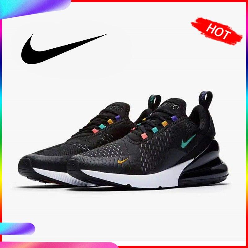 Original Authentic Nike Air Max 270 Women's Running Shoes Breathable Sneakers Athletic Designer Footwear 2019 New AH6789-023