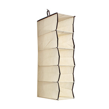 6 Section Shelf Clothes Hanging Organizers Pant Organizers Holder Wardrobe Section Storage Closet Organiser Shoe Clothes Garment rack storage closet wardrobe hanging shelf organizer 16 pockets for clothes sock hanging organizers