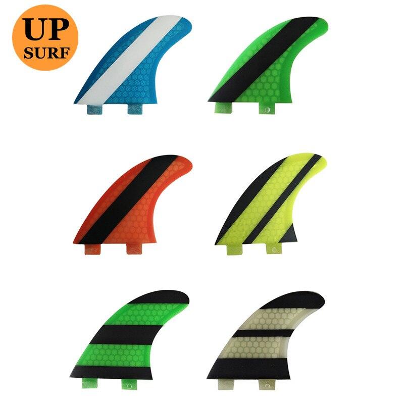 Fcs G3/G5/G7 Fcs Ailerons Surfboard Tabla De Surf Barbatanas Honeycomb Fibreglass Fcs Fins Quilhas Surf