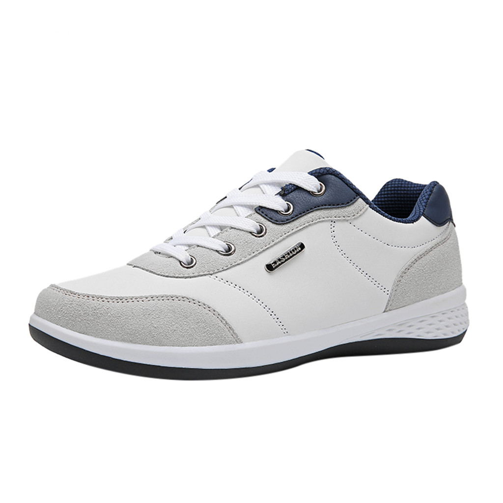 SAGACE Sneakers Platform-Shoes Sport Casual Fashion Lace-Up Spring Men's Comfortable title=
