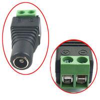 DHL/EMS 200 ADET 5.5mm x 2.1mm DC Dişi priz Terminalleri Soket kapalı devre kameralar Con to A8|Pil Aksesuarları ve Şarj Aksesuarları|Tüketici Elektroniği -