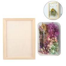 1 caja de flores secas reales, Plantas secas naturales, marco de foto de flores inmortal, manualidades, accesorios de bricolaje, decoración del hogar