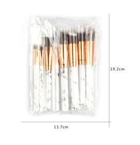 Image 5 - ESSANCEYA 7/10/20Pcs Marble Pattern Makeup Brush for Cosmetic Powder Foundation Eyeshadow Make Up Brushes Set Beauty Tools Kits