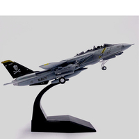 1/100 Military Model Toys F14 Tomcat F 14A/B AJ200 VF 84 Fighter Diecast Metal Plane Aircraft airplane Model Toy For Collectio
