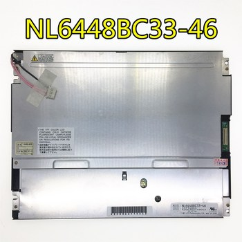 """Can provide test video , 90 days warranty   10.4"""" 640*480 a-Si TFT-LCD panel NL6448BC33-46"""