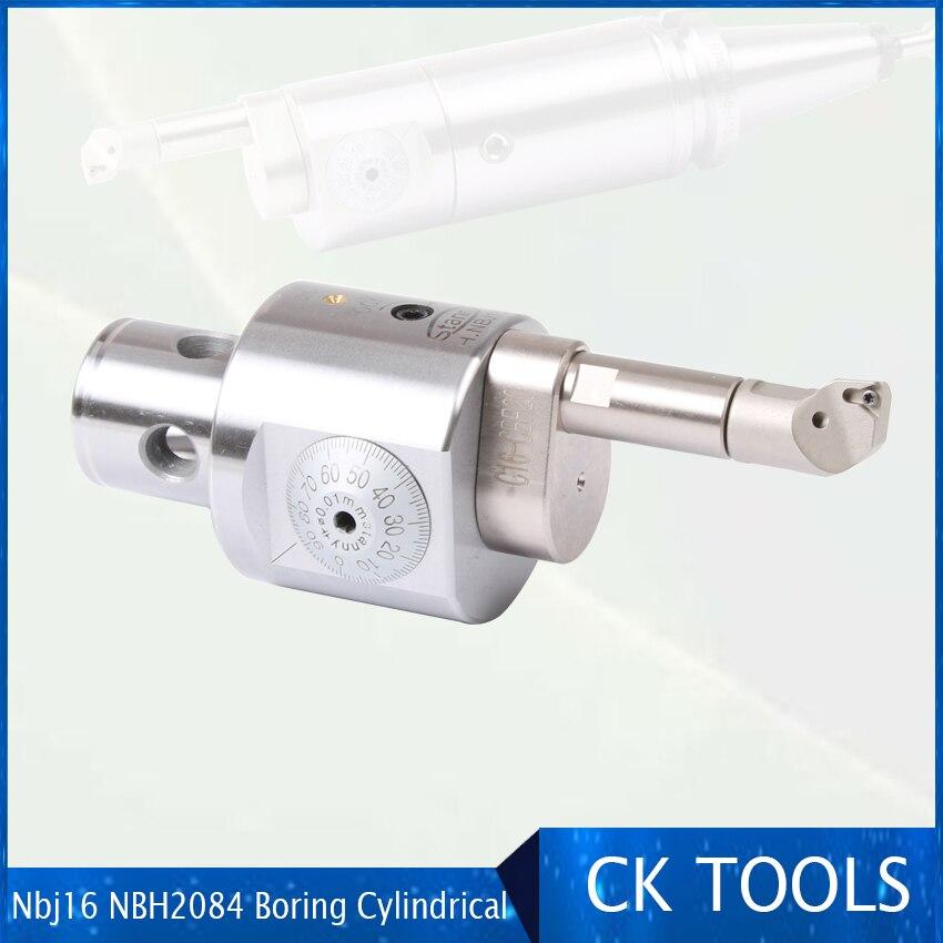Nbj16 NBH2084  Extension  Modular Assembly For External Adapter Boring Cylindrical Component Cbr20 Modular  For External