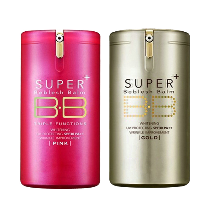 Gold Pink Balm Bb Cream Professional Primer Concealer Sunscreen Spf30 Pa++ Foundation Base Super Beblesh Makeup Perfect Cover by Ali Express.Com