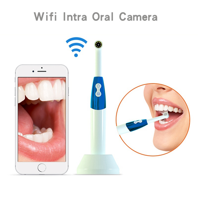 Wifi câmera dental hd telefone intraoral endoscópio