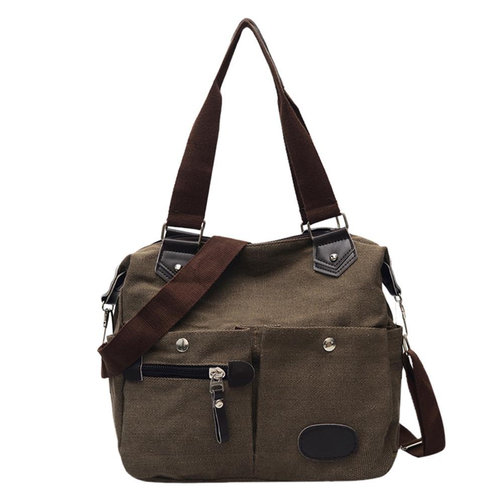Women Messenger Bag Handbag Large Capacity Casual Designer Shoulder Handbags Female Canvas Travel Crossbody Bag Bolsas 2019 New