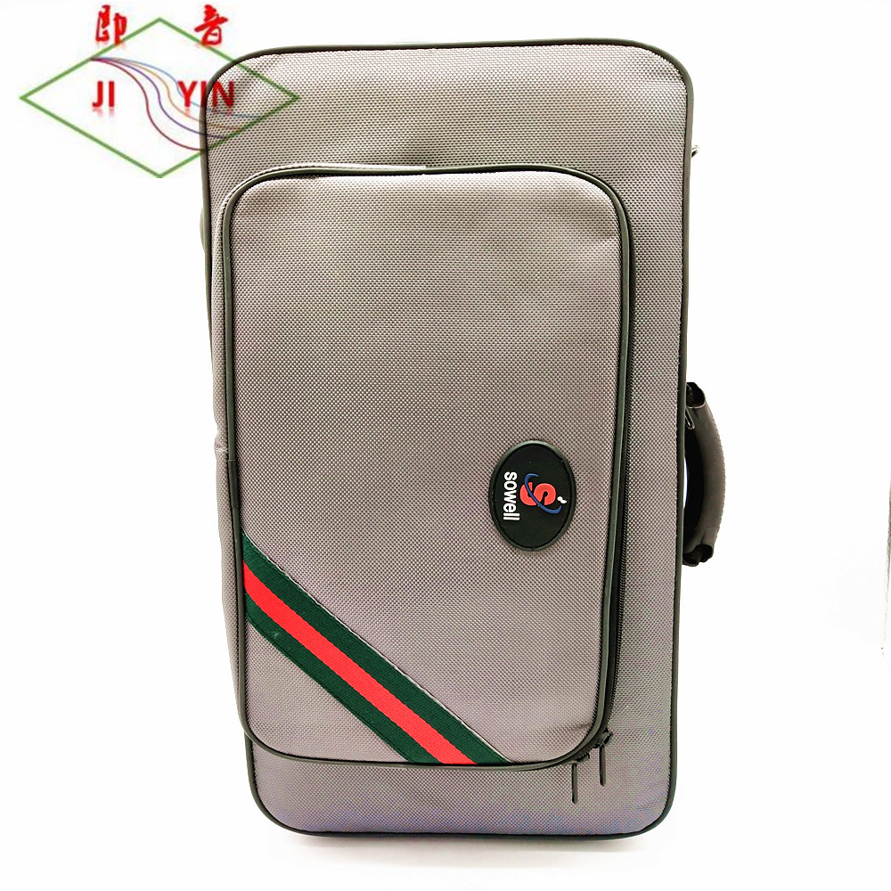 JI YIN High-end Musical Instrument Trumpet Bag High-quality Canvas Bag Waterproof Material #2