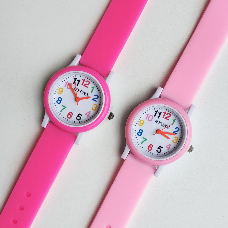 Child Christmas Gift Girl Student Clock Children Watch Princess Women Quartz Kids Watches Sports Alloy Dial Leather Wristwatches