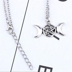 Wiccan Pagan Thème Charms pour crafts ou bijoux x10 Triple Lune Pentagram etc