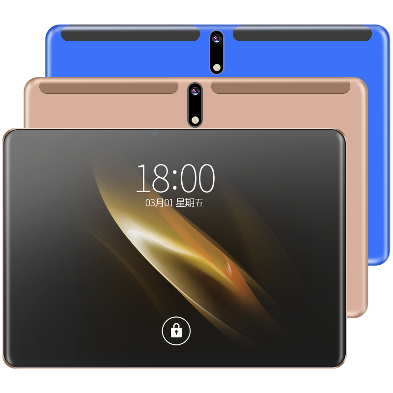 2019 New Tablet 10.1 Inch Android 9.0 Octa Core MTK6762 ROM 64gb 128GB ROM  4G LTE 1920*1200  Camera 13.0MP Screen G+G Tablets