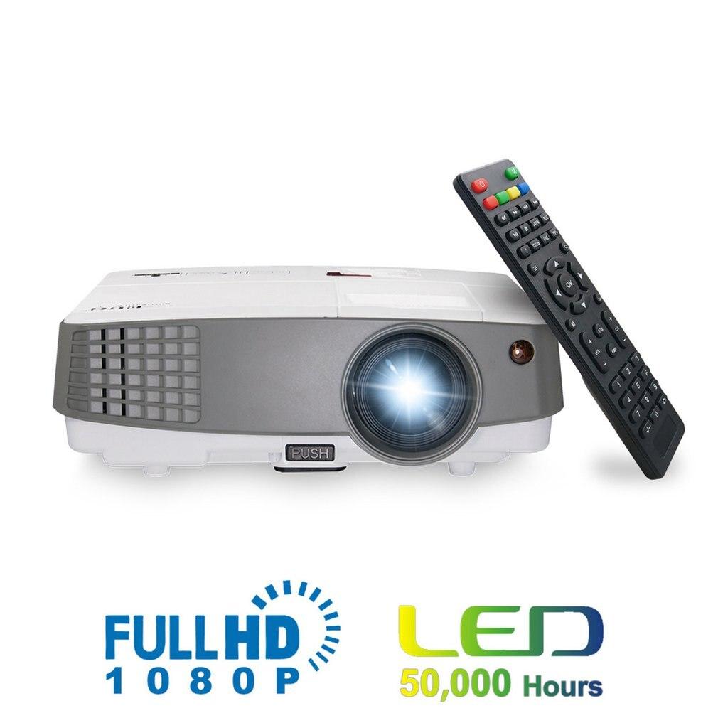 Projecteur à la maison du projecteur 600d + Hd a mené le Mini projecteur Durable de projecteur