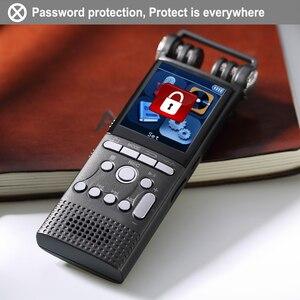 Image 2 - Gravador de áudio digital ativado por voz, 8gb, 16gb, usb, caneta sem parada, 100hr, gravação pcm 1536kbps mp3 player hifi,