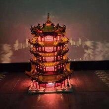Xingbao Новинка 01024 оригинальные креативные строительные серии