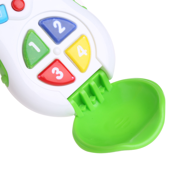 Baby Kids Mobile Cellphone Learning Study Music Sound Children Educational Toys Y4UD image