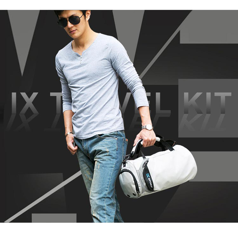Waterproof Sport Bags Men Large Gym Bag Women Yoga Fitness Bag Outdoor Travel Luggage Hand Bag with Shoe Compartment 2019 (1)