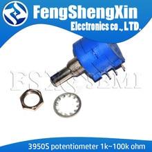 1 1 pçs/lote Novo 3590S K 50 20 10 5 2K K K K K 100K ohm Precision Potentiometer Resistor Ajustável 3590-2-102 103 502 103 203 503 104