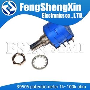 1pcs/lot New 3590S 1K 2K 5K 10K 20K 50K 100K ohm Precision Potentiometer Adjustable Resistor 3590-2-102 103 502 103 203 503 104