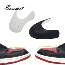Wholesale Shoes Shield for Sneakers Shields Anti-wrinkle Fold Support Shoe Toe Cap Practical Anti-Crease Protector Dropshipping