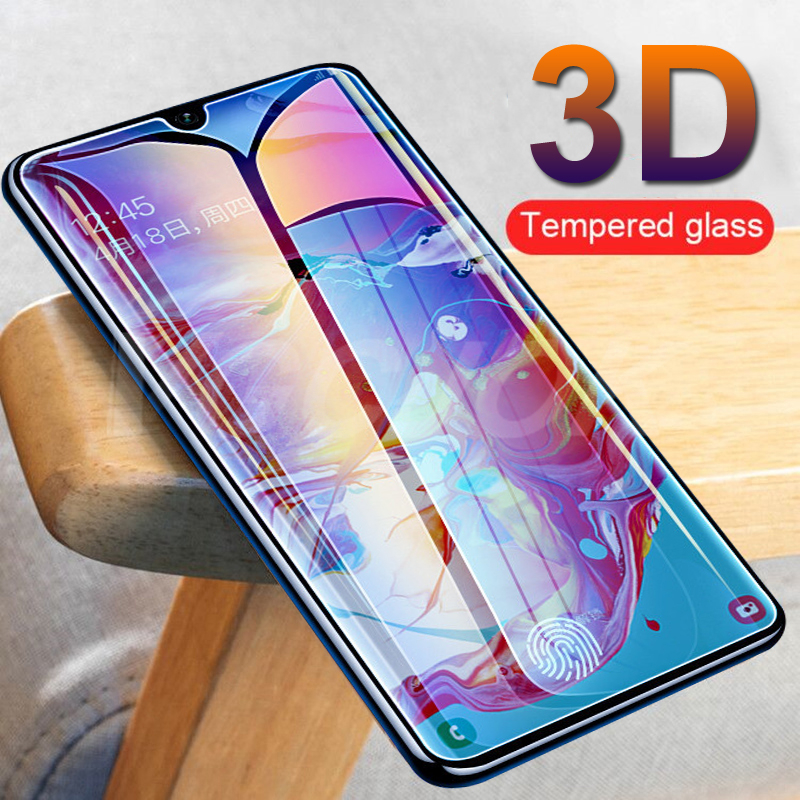 3D Safety Protective Glass For Samsung Galaxy A10 A20 A20E A30 A40 A40S A50 A60 A70 A80 A90 M10 M20 M30 M40 Tempered Screen Film