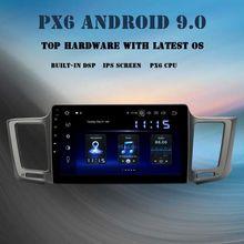 "10.2"" IPS Android 9.0 car Multimedia player GPS navi for Toyota RAV4 2013 2014 2015 2016 2017 radio 2 din PX6 DSP HDMI 4Gb+64GB"