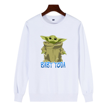 O-neck Trend Cute Baby Child Yoda Sweatshirt PU27