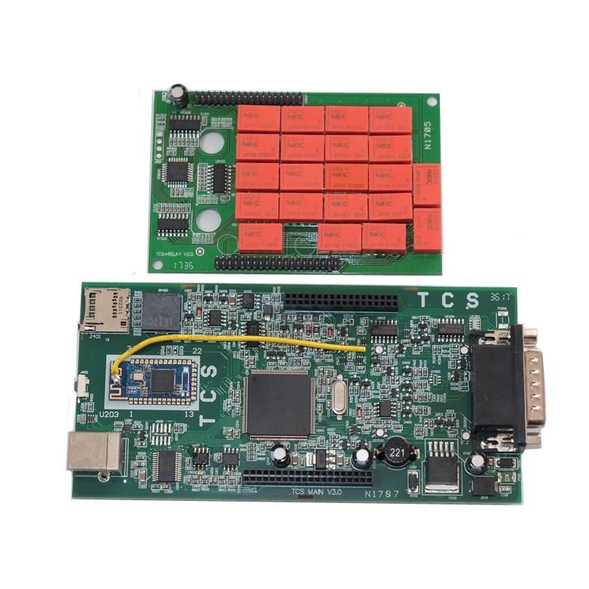 2019 nowy VCI 2015.3/2016R1 Keygen TCS PRO OBDIICAT z Bluetooth OBD2 kabel narzędzie diagnostyczne VD600 TCS samochody ciężarowe