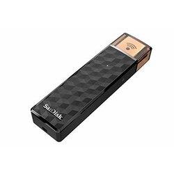 USB флеш-накопитель SanDisk, беспроводной медиа-накопитель, USB-флешка с Wi-Fi, 32 ГБ, 64 ГБ, 128 ГБ, 200 ГБ, USB 2,0, б/у