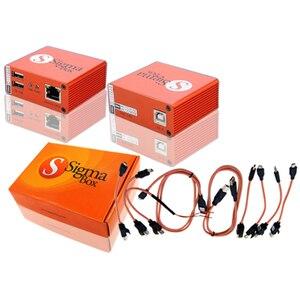 Image 4 - Оригинальный Sigma Box Sigmabox gsmjustoncct, полный набор для разблокировки и вспышки, и ремонта для китайской фототехники, кабель Nokia + 9