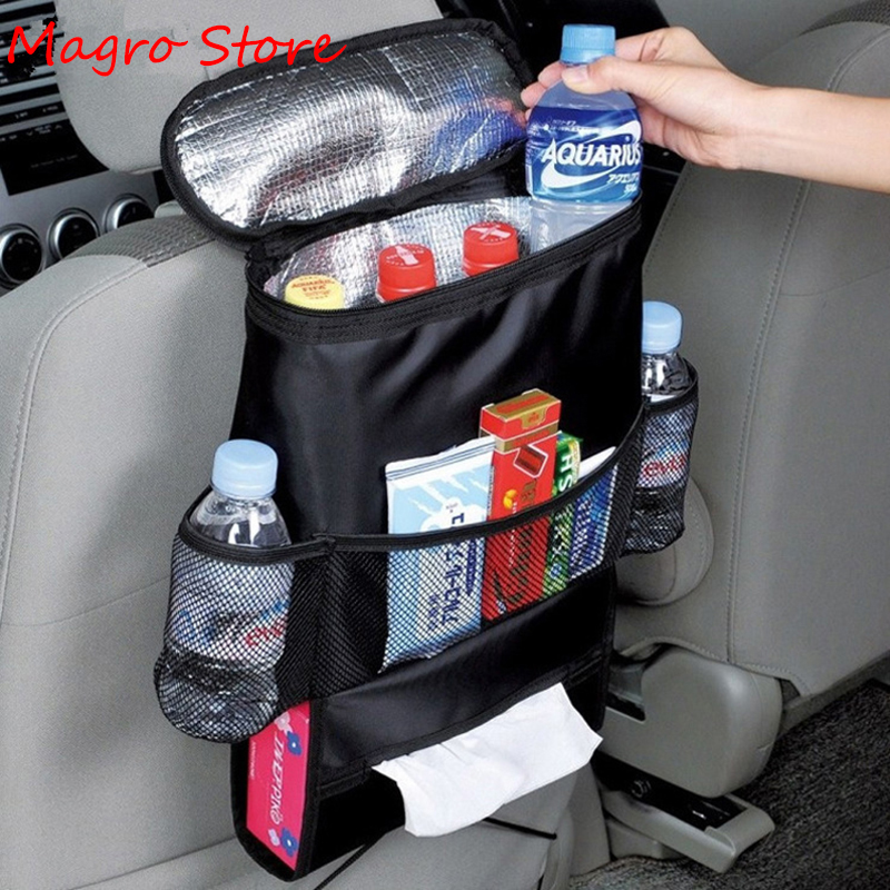 Shopping Cart Covers Seat Back Storage Bag Multi-Pocket Universal Long-lasting Insulation Hanging Holder Pouch Auto Accessories
