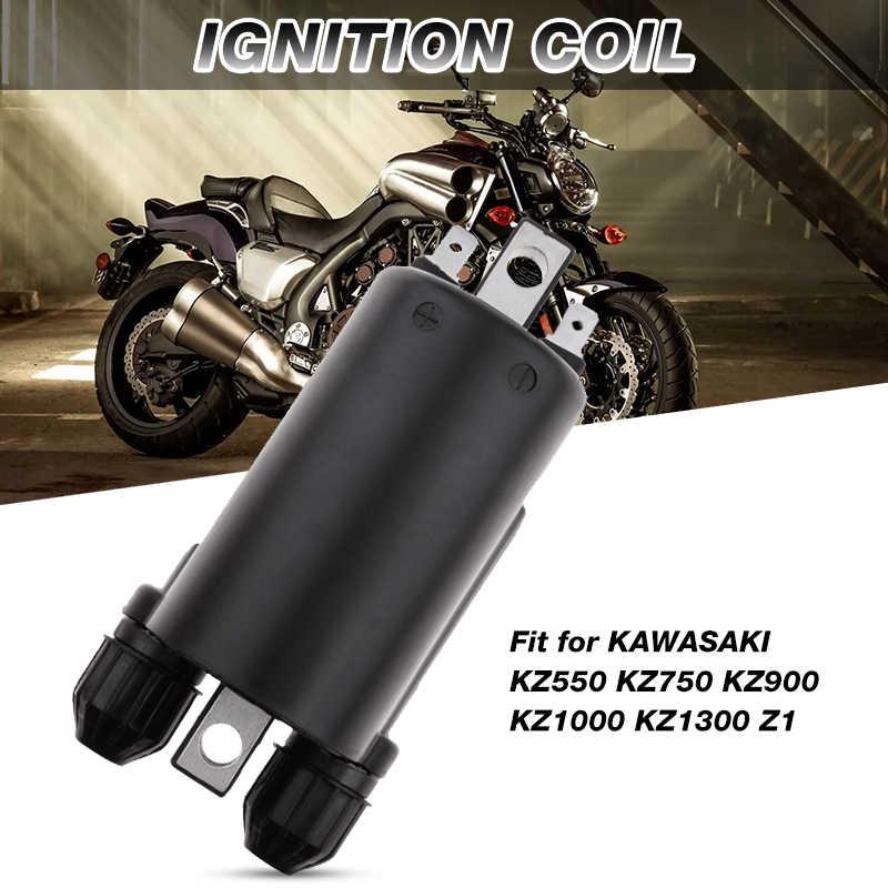 2 pezzi di bobina dellaccensione dellaccessorio per moto per Kawasaki KZ Suzuki GS Honda CB 650 750 900. Bobina di accensione