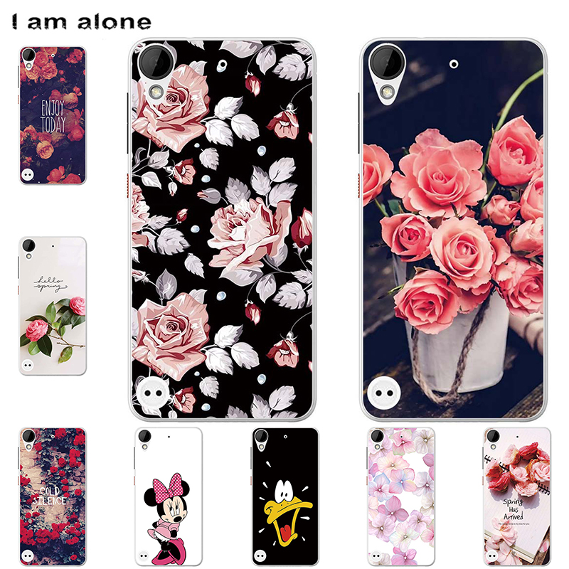 Phone Cases For HTC Desire 526 530 620 626 728 816 820 825 826 828 830 Soft TPU Bags Mobile Cartoon Printed Cover Free Shipping image