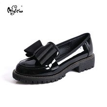 MYLRINA patent leather women flat shoes Comfortable 2020 Spr