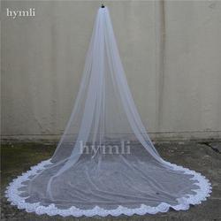 1 слой собора длина 3 м кружева с блестками свадебная фата невесты