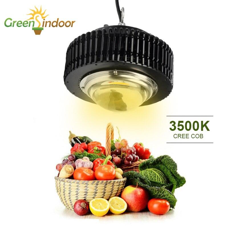 Тент для выращивания COB 3500K Светодиодная лампа для выращивания CXB3590 CXB2530 полноспектральная фитолампа для растений, цветов, комнатный бокс
