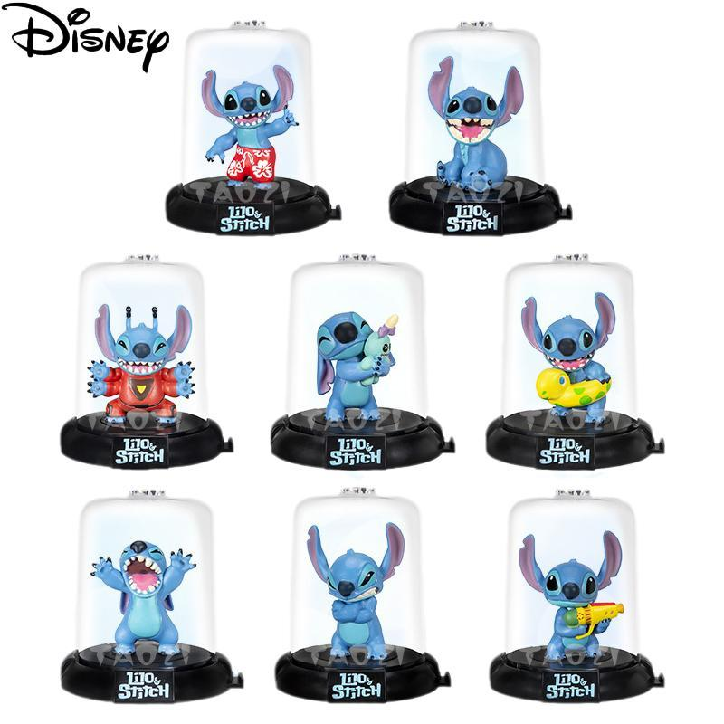 Disney Movie Lilo& Stitch Blind Box Action Figure Mini Q Little Monster Experiment 626 Action Figure Collection Model Kids Toys